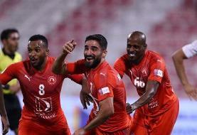 پیروزی العربی با هتتریک محمدی/ رضاییان گل زد