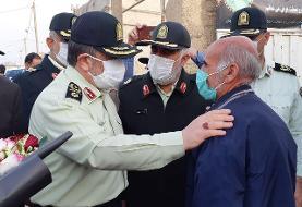 فرمانده ناجا: عوامل حمله به پاسگاه کورین زاهدان دستگیر شدند