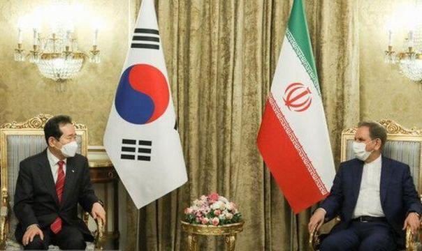 جهانگیری از کرهجنوبی خواست منابع ارزی ایران را 'در اسرع وقت آزاد کند'