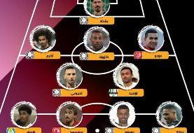 یک ایرانی در تیم منتخب فصل لیگ ستارگان قطر