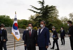 جهانگیری از نخست وزیر کره جنوبی استقبال رسمی کرد