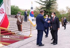 استقبال جهانگیری از نخست وزیر کره جنوبی + عکس