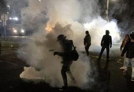 اعتراضات در نزدیکی میناپولیس پس از کشته شدن یک سیاهپوست توسط پلیس
