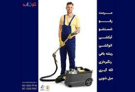 چگونه لکه جوهر را از فرش پاک کنیم؟