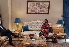 دیدار سخنگوی وزارت خارجه روسیه با خطیبزاده