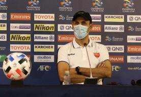 گل محمدی: بازیکنان ما در شرایط سخت انتظارات را برآورده میکنند