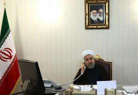 تماس تلفنی سران ایران و قطر | روحانی: حضور رژیم صهیونیستی برای منطقه خطرناک است