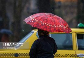هشدار هواشناسی نسبت به وقوع رگبار و وزش باد شدید در ۱۱ استان