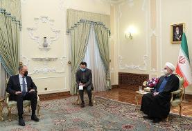 هشدار روحانی در دیدار با لاوروف: حضور اسرائیل در خلیج فارس خطرناک است  ...