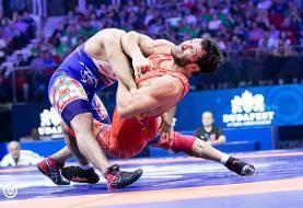 ناصر علیزاده به مدال طلا دست یافت