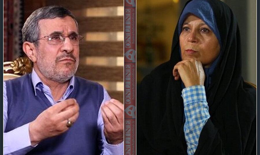 احمدینژاد میگوید به فائزه هاشمی پیشنهاد همکاری نداده است