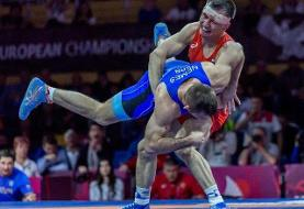 ترکیب روسیه در کشتی آزاد و فرنگی قهرمانی اروپا / تزارها به دنبال ۴ سهمیه المپیک