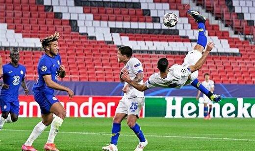 طارمی، برنده جایزه برترین گل لیگ قهرمانان اروپا