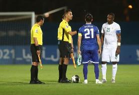 تحقیر تاریخی الاهلی مقابل استقلال در حضور وزیر ورزش عربستان