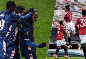 صعود آرسنال، یونایتد، رم و ویارئال به نیمه نهایی لیگ اروپا
