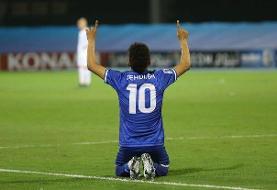 زننده دو گل استقلال به الاهلی بهترین بازیکن زمین شد