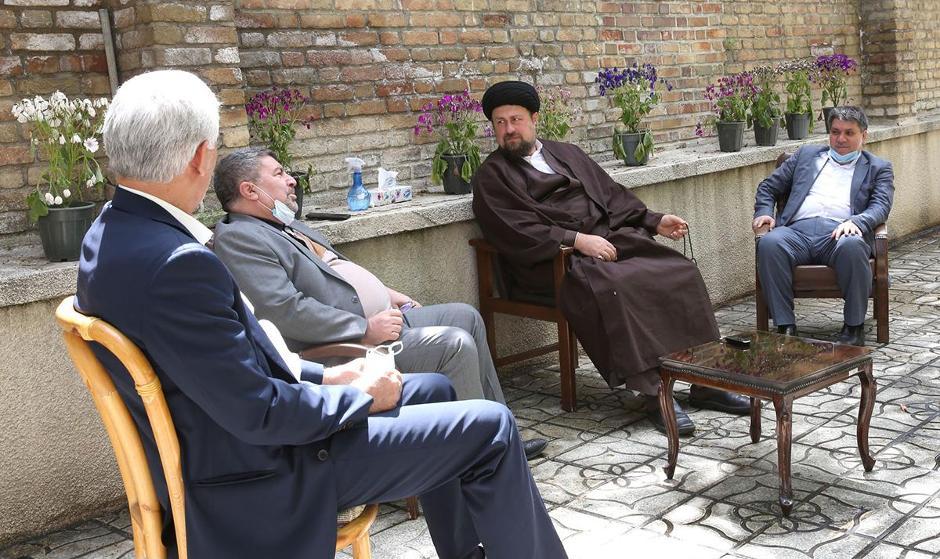 سید حسن خمینی: حکومت «یکدست افراطی» برای کشور خطرناک است/ مردم خیلی ...