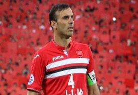 رکوردشکنی سیدجلال حسینی در بین بازیکنان ایرانی