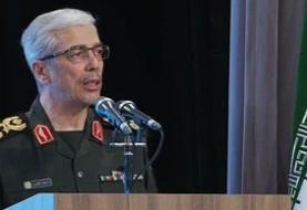 سرلشکر باقری: سپاه و ارتش آماده پاسخ قاطع به هر نوع تهدید و اقدام شوم دشمنان هستند