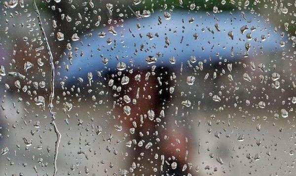 کاهش نسبی دمای هوا/وقوع رگبار باران و رعد و برق در اردبیل