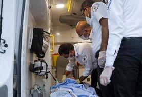 واژگونی وانت حامل اتباع بیگانه در میرجاوه/ ۲۱ نفر مجروح شدند
