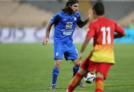 هافبک سابق استقلال خشنترین بازیکن هفته نخست