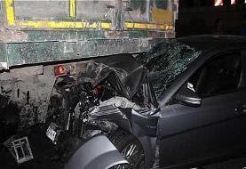 تصادف خونین در محور الیگودرز / ۵ کشته و یک زخمی