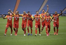 فولاد ۱-۰ الوحدات اردن / صدرنشینی شاگردان نکونام با پیروزی در هفته دوم لیگ قهرمانان آسیا