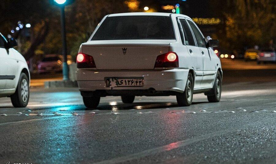پوشاندن پلاک خودروها بیشترین تخلف این شبهای پایتخت
