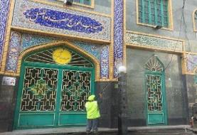 مساجد شمال شرق تهران آماده میزبانی از نمازگزاران شد