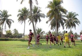 تمرین سبک پرسپولیس در روز بازی با الریان قطر