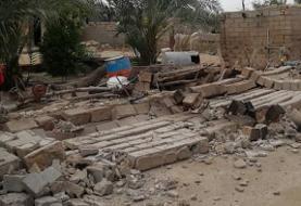 زمینلرزهای ۹/ ۵ ریشتری بندر گناوه در استان بوشهر را لرزاند