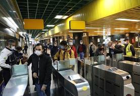 افزایش دوبرابری استفاده شهروندان از مترو |کاهش ۲۹ مرحلهای سرفاصله حرکت قطارها طی ۳ سال