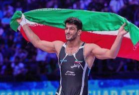 کسب دو مدال طلای آسیا برای تیم ملی کشتی ایران | قهرمانی مقتدرانه یزدانی و قاسمپور