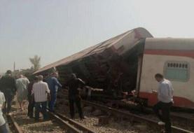 خروج قطار در مصر، ۱۶ کشته و ۹۷ زخمی