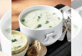 طرز تهیه سوپ کلم بروکلی با شیر | غذایی رژیمی و تامینکننده آب مورد نیاز بدن