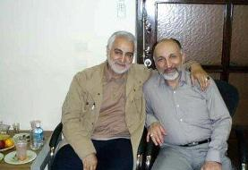 پیام تسلیت خانواده شهید سلیمانی در پی در گذشت سردار حجازی