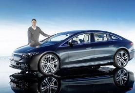 جهان خودرو؛ لوکسترین مدل الکتریکی بنز رونمایی شد