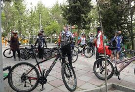 بزرگراه شهید همت صاحب لاین دوچرخه شد  | از بلوار میرداماد تا میدان مادر ...