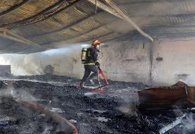 ۶ کشته و یک مصدوم در آتشسوزی کارگاه مبل سازی +فیلم