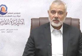 هنیه درگذشت سردار حجازی را به رهبر انقلاب تسلیت گفت