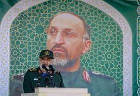 فرمانده کل سپاه: سردار حجازی، نقشه شکست قطعی صهیونیستها را تکمیل کرد
