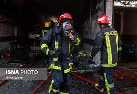جانباختن ۶ نفر در آتشسوزی کارگاه اسفنجسازی