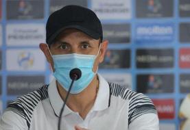 گلمحمدی: گوا تیمی منسجم و گروه پرسپولیس یکی از سختترینهاست | گل سوم به ثمر میرسید بازی ...