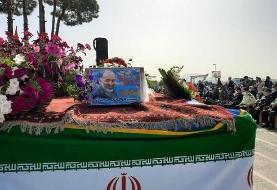 برگزاری مراسم تشییع پیکر سردار حجازی در اصفهان