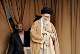 تصویری از جانشین فرمانده نیروی قدس سپاه در کنار رهبر انقلاب