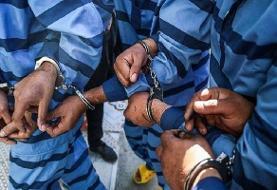 بازداشت ۲۱ سارق در طرح سراسری مقابله با قاپزنی