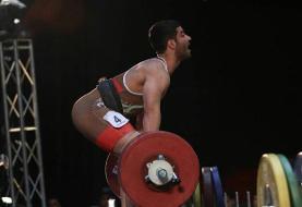 جوادی در یک ضرب ۷۳ کیلوگرم برنز گرفت/چین رکورد جهان شکست