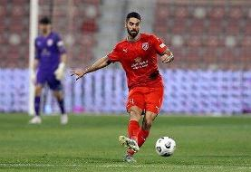 علی کریمی مقابل هم تیمی های سابق