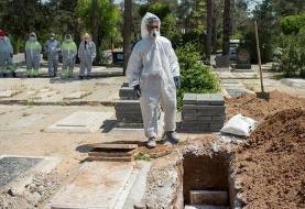 رکورد ثبت فوتیهای روزانه در بهشت زهرا طی ۵۰ سال اخیر شکسته شد